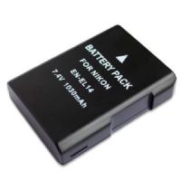 Batteria di ricambio Li-Ion NIKON EN-EL14 (for D3100/D5100/D3200/D5200)
