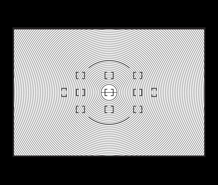 A TYPE x F6 Schermo Messa a Fuoco