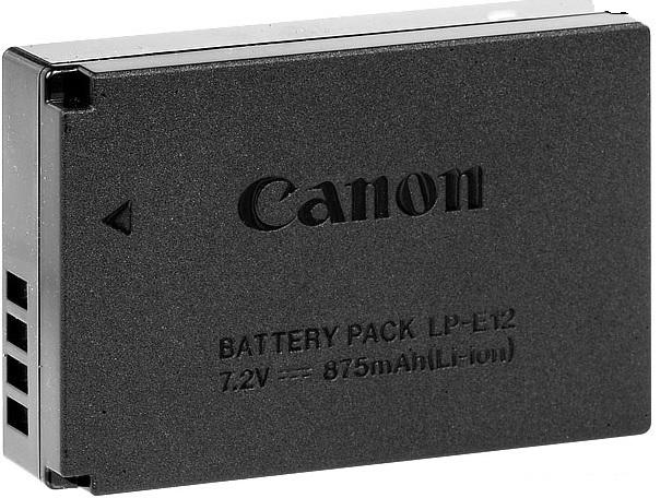 LP-E12 (per Canon EOS 100D)