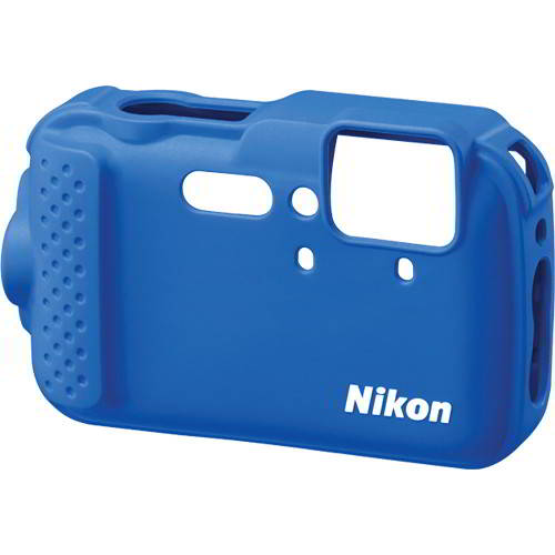 COOLPIX AW120 Silicone Jacket blue CF-CP001