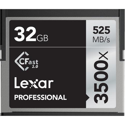 CFast 2.0 32GB 3500x Professional