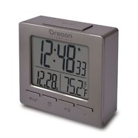 NEW TRAVEL CLOCK TOTAL SILVER