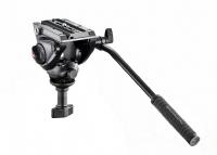 Testa video con semisfera da 60mm, 1 leva fissa