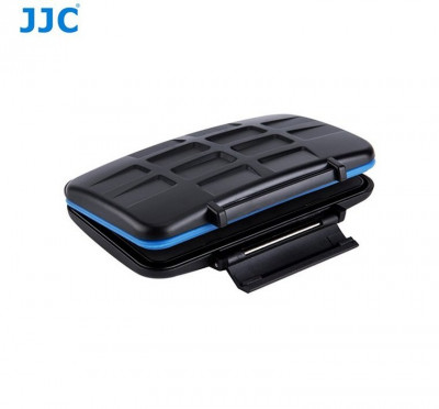 JJC Custodia Memory Card 8 SD + 8 MicroSD