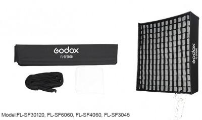FL-SF SOFT BOX CON GRIGLIA 30X120 PER FL150R