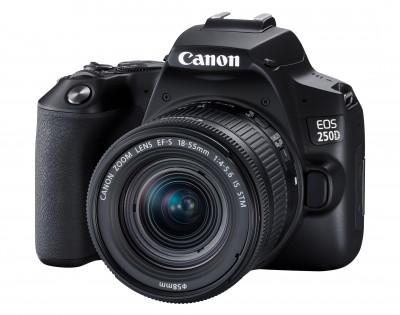EOS 250D + EF-S 18-55 IS STM BLACK