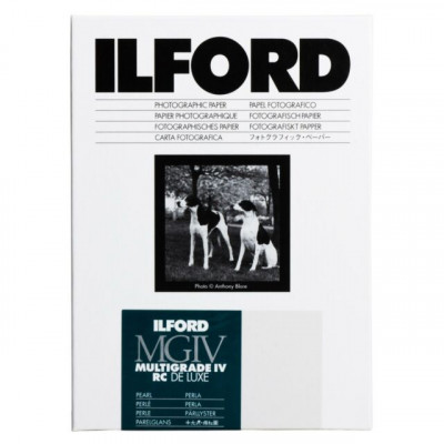 ILFORD M.GRADE V RC DELUXE 44M 10X15 100F PEARL