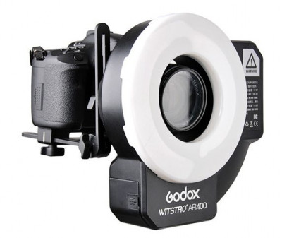 WITSTRO AR-400 FLASH ANULARE BEAUTY E VIDEO LED - 400W/S - NG 36 (Wireless)