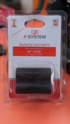 Batteria litio Fujifilm NP-W235 1900 mAh (BATTERIA COMPATIBILE X-T4)