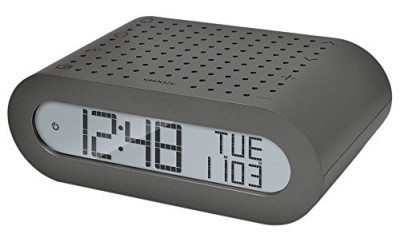Oregon Scientific RRM116, Orologio sveglia con radio, Argento