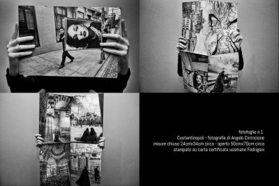 "Fotografie d'autore su carta uso mano "" N°1 """