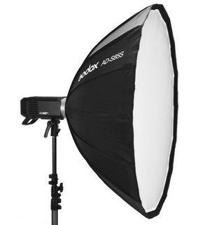 AD-S85S Octa Softbox Silver per Flash AD400Pro