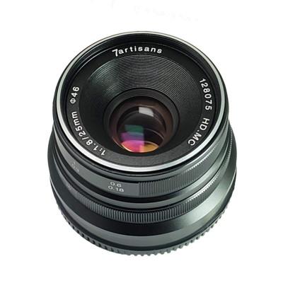 25mm f/1.8 x Micro Quattro Terzi