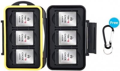 Custodia Memory Card 6 SD + 3 CF
