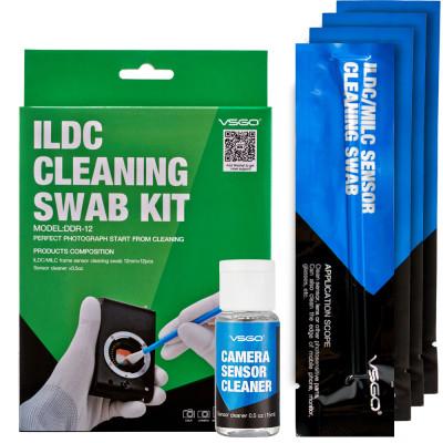 Kit pulizia per M4/3 12 swab + 15ml sensor clean
