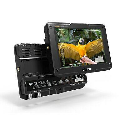 """Monitor H7S 7"""" HDMI SDI  NIT 1800 visibile alla luce del sole"""