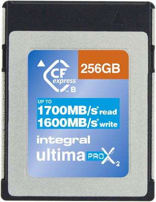 CF EXPRESS 256 GB 1700/1600MBs