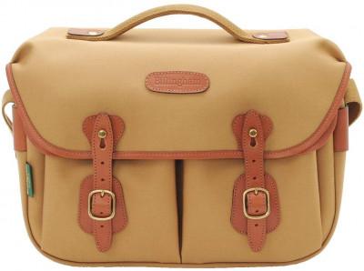 Billingham Borsa Hadley Small Pro Tela Khaki/Bordi Cuoio marrone chiaro + finiture ottone