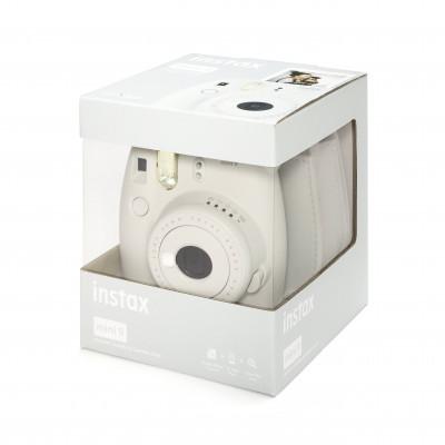 INSTAX MINI 9 +10 FOTO+BORSA - SMOKY WHITE