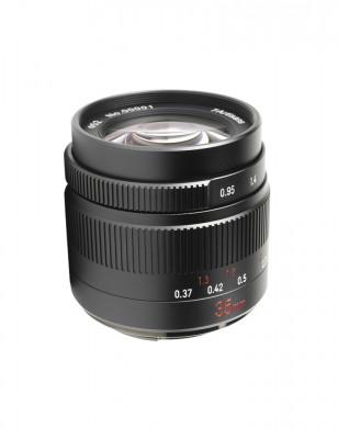 35mm f/0.95 x Fuji FX