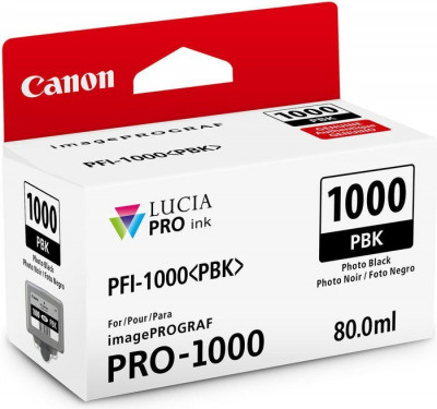 PFI-1000 PBK PHOTO BLACK 80ML
